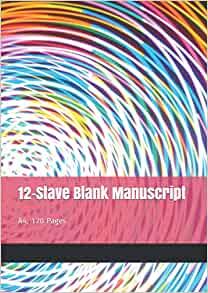 12 Stave Blank Manuscript