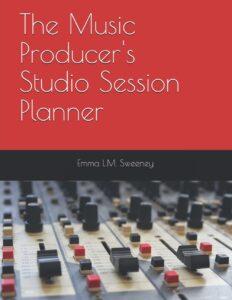 music studio session planner